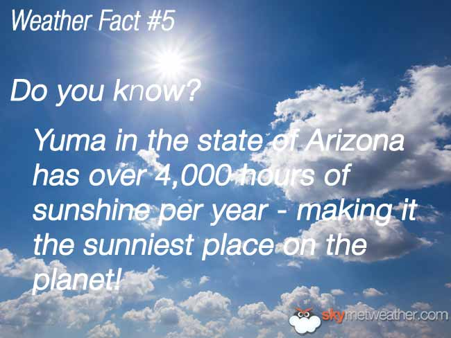 Weather Fact #5