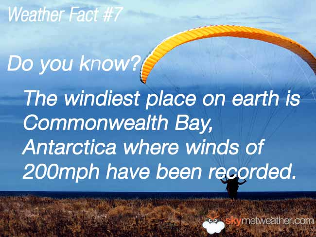 Weather Fact #7