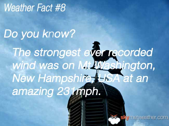 Weather Fact #8