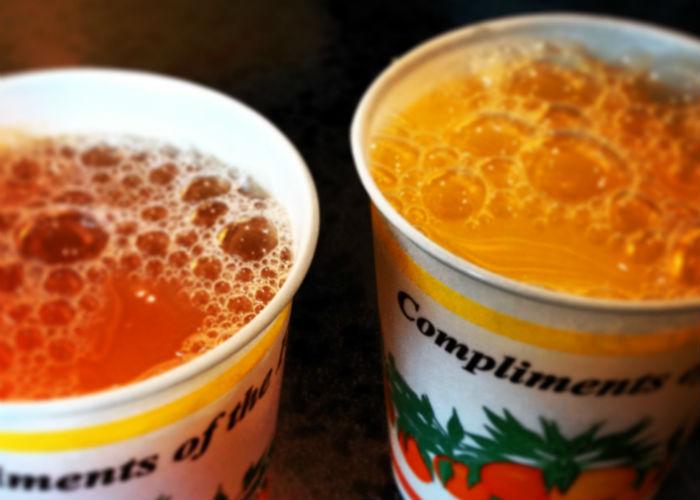 Roadside juices