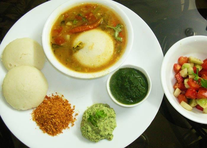 Idli Sambhar of Chennai