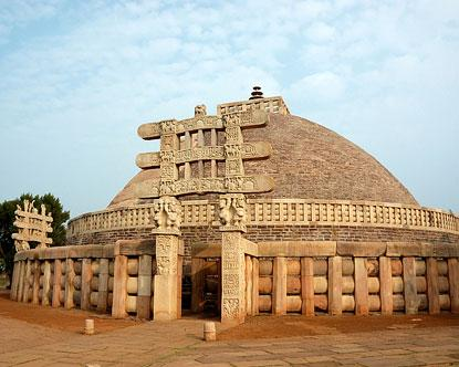 Buddhist Monuments Sanchi