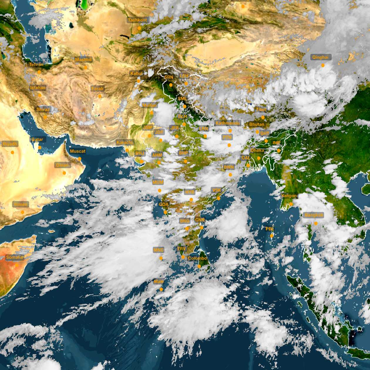 weather forecast satellite map india Quglrep Vwt68m weather forecast satellite map india