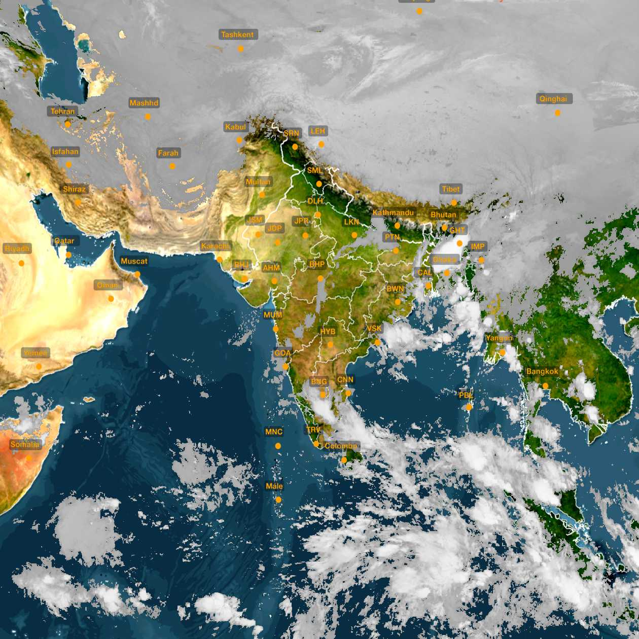 <b style='padding-left:57px;'>02:30</b><br>Satellite Images of India <br>for 31 October 2020