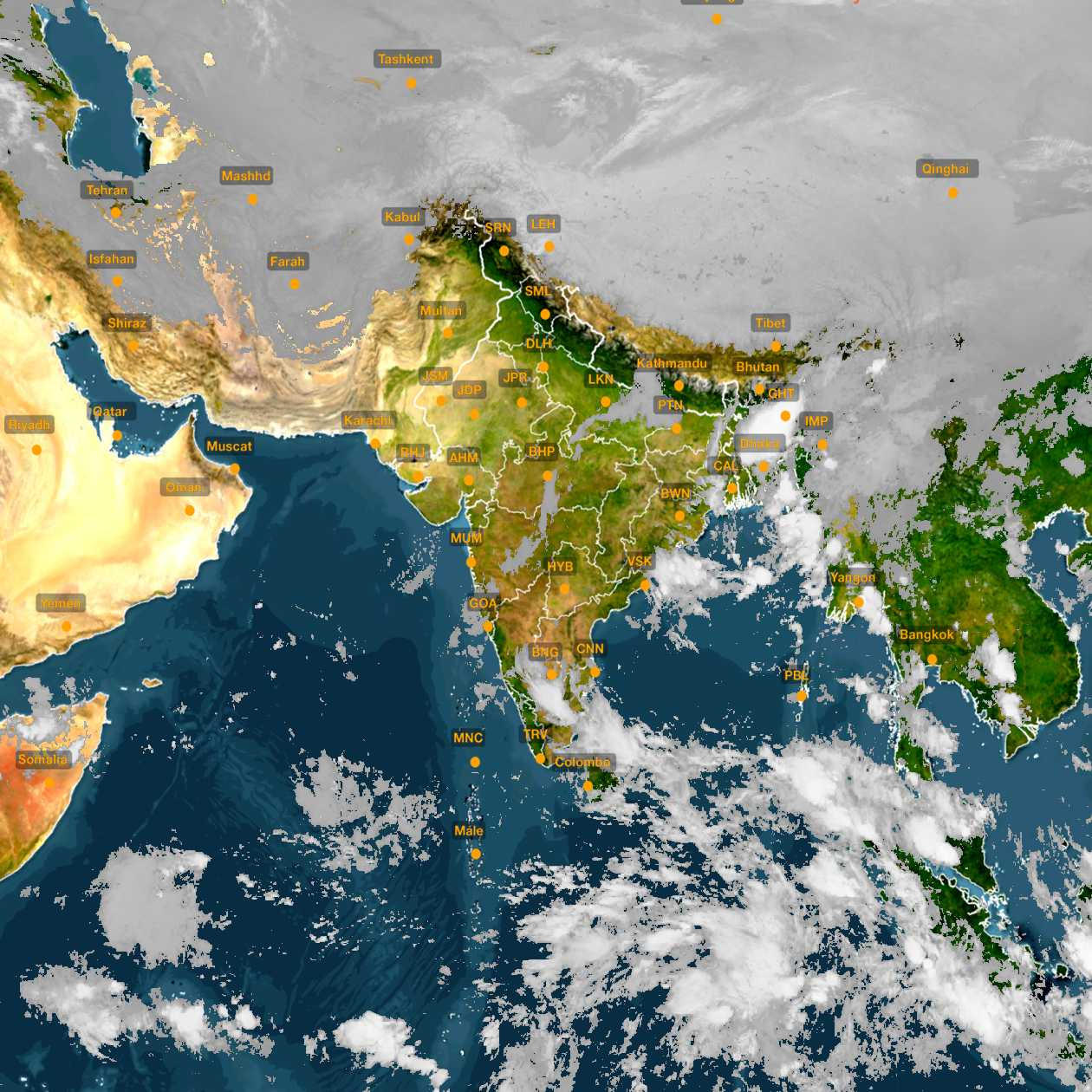 <b style='padding-left:57px;'>03:00</b><br>Satellite Images of India <br>for 31 October 2020
