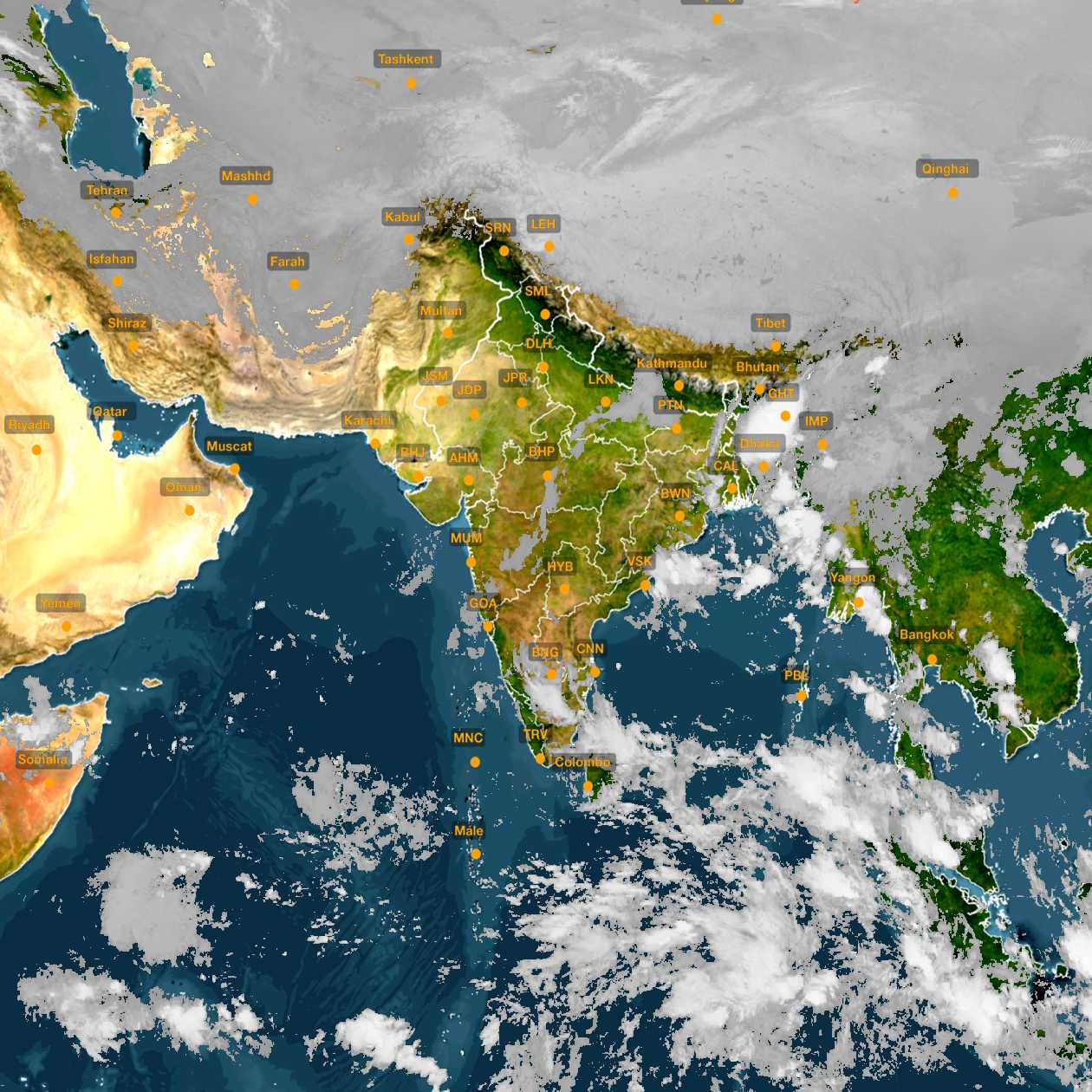 <b style='padding-left:57px;'>03:30</b><br>Satellite Images of India <br>for 31 October 2020