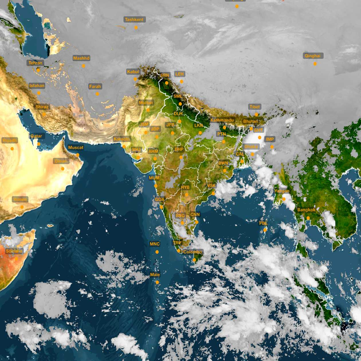 <b style='padding-left:57px;'>04:00</b><br>Satellite Images of India <br>for 31 October 2020