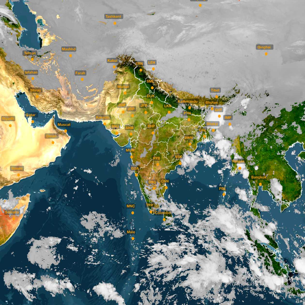 <b style='padding-left:57px;'>05:00</b><br>Satellite Images of India <br>for 31 October 2020