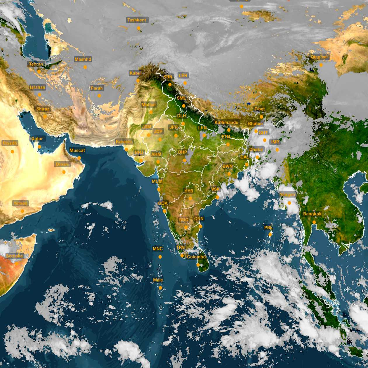 <b style='padding-left:57px;'>08:00</b><br>Satellite Images of India <br>for 31 October 2020