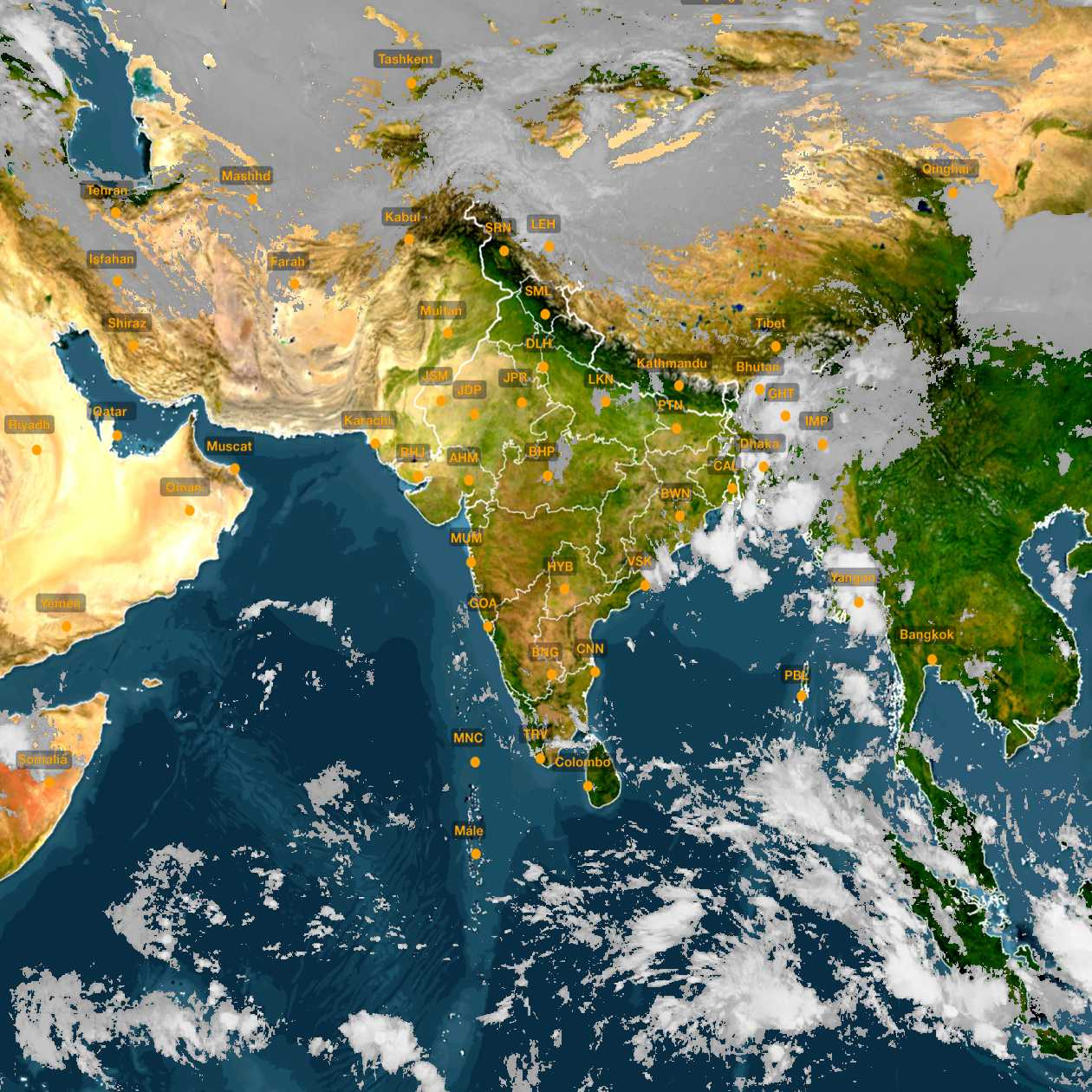<b style='padding-left:57px;'>08:30</b><br>Satellite Images of India <br>for 31 October 2020