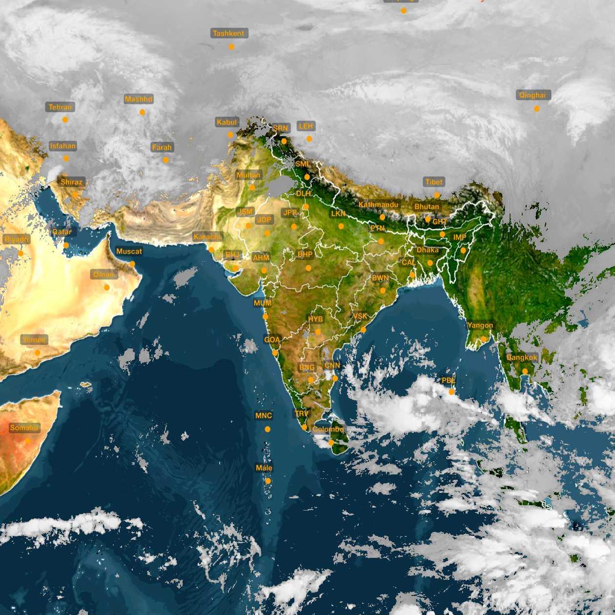<b style='padding-left:57px;'>00:30</b><br>Satellite Images of India <br>for 30 November 2020
