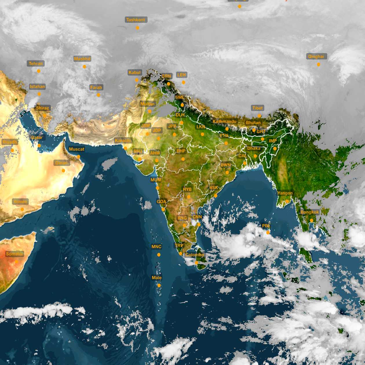 <b style='padding-left:57px;'>01:00</b><br>Satellite Images of India <br>for 30 November 2020