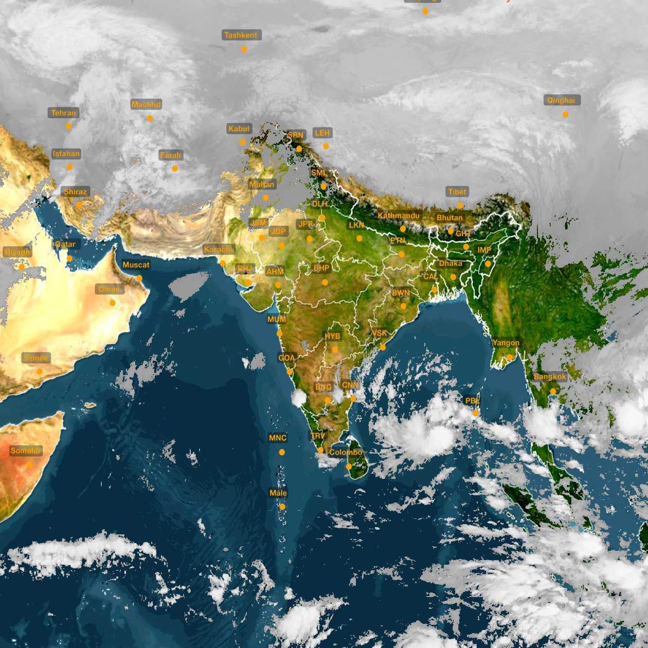 <b style='padding-left:57px;'>03:00</b><br>Satellite Images of India <br>for 30 November 2020