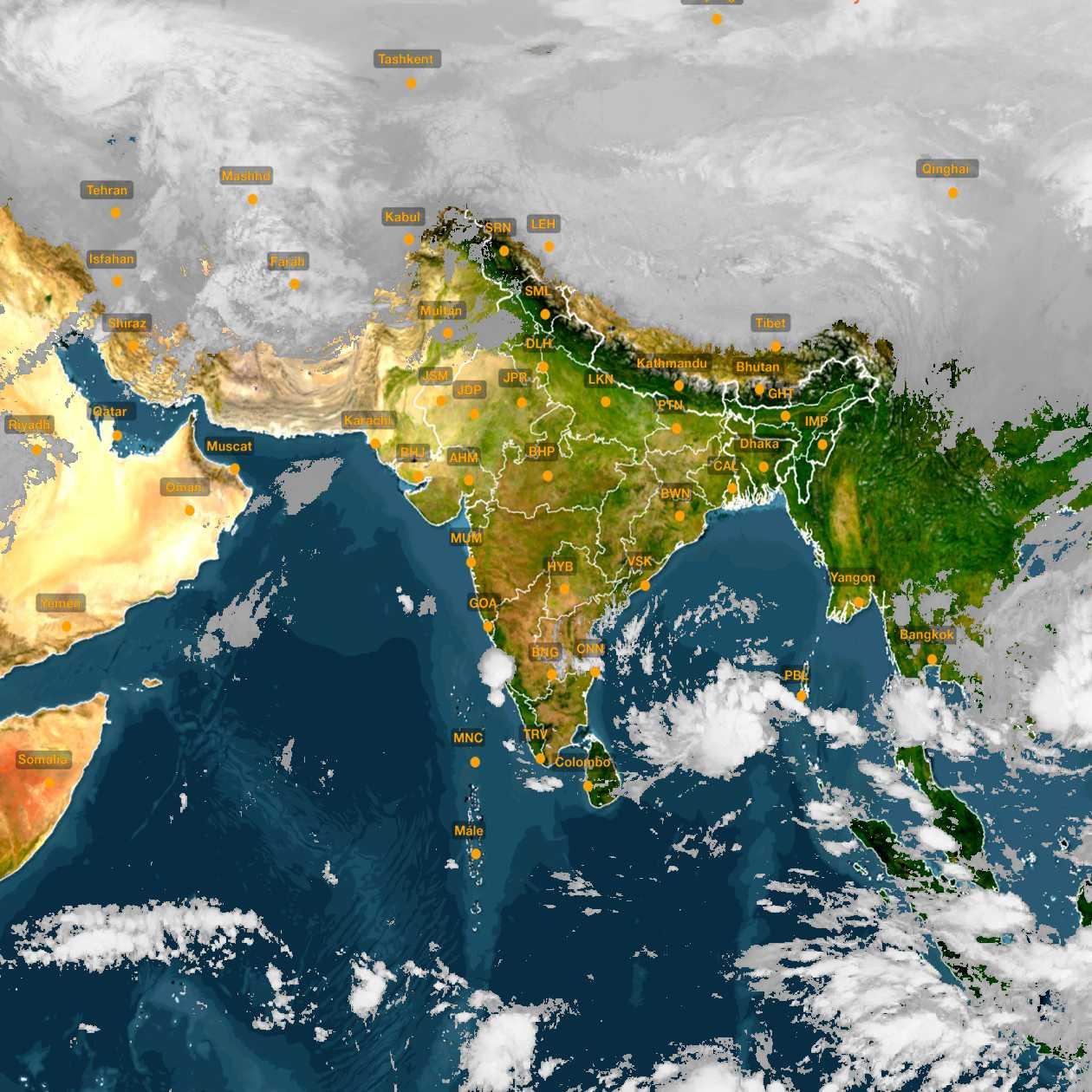 <b style='padding-left:57px;'>05:00</b><br>Satellite Images of India <br>for 30 November 2020