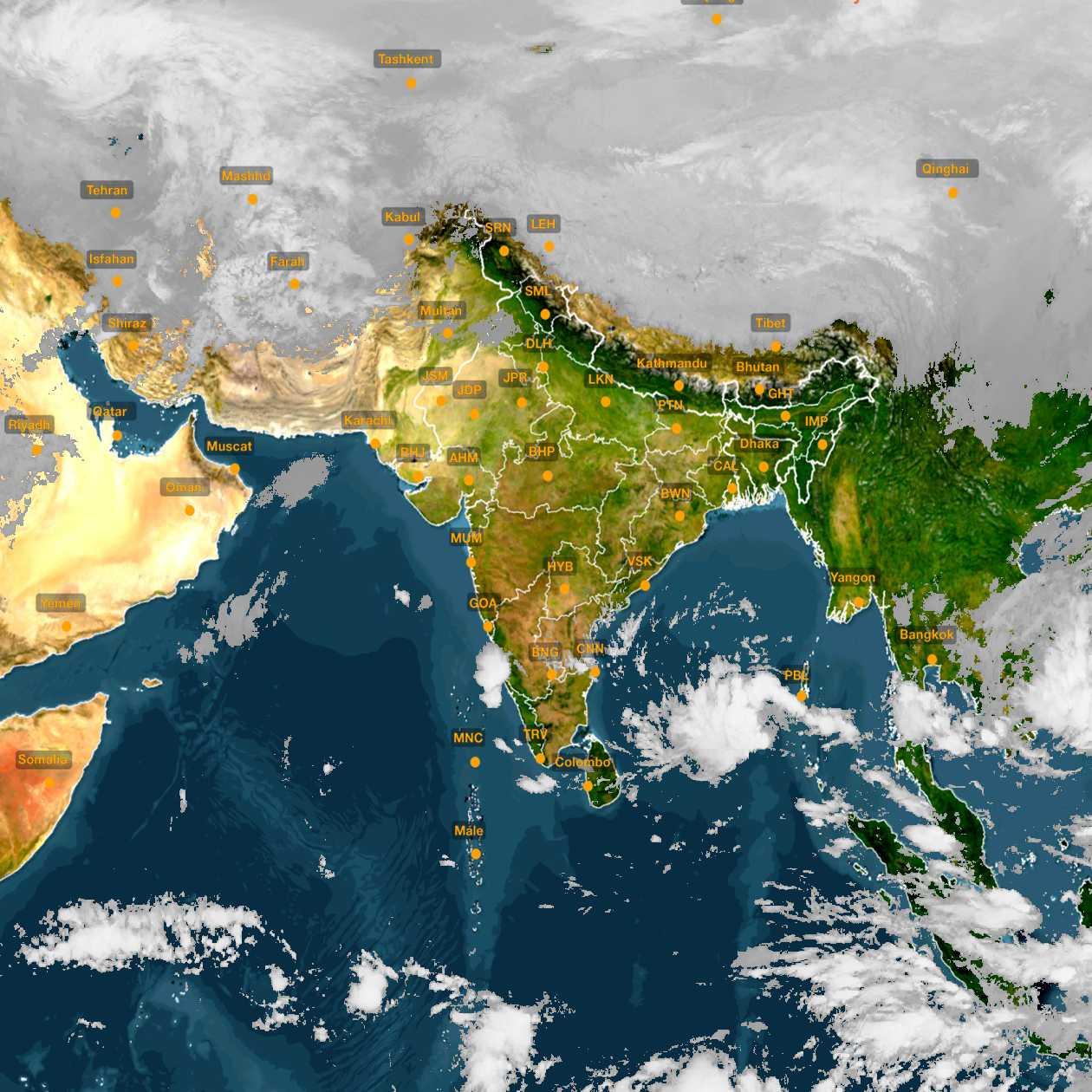 <b style='padding-left:57px;'>06:00</b><br>Satellite Images of India <br>for 30 November 2020