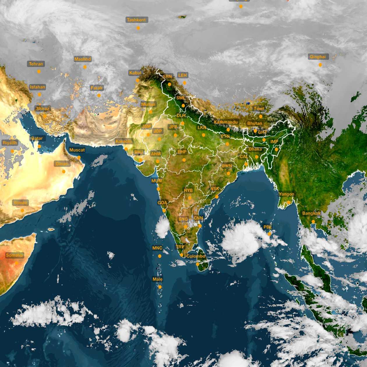 <b style='padding-left:57px;'>08:30</b><br>Satellite Images of India <br>for 30 November 2020