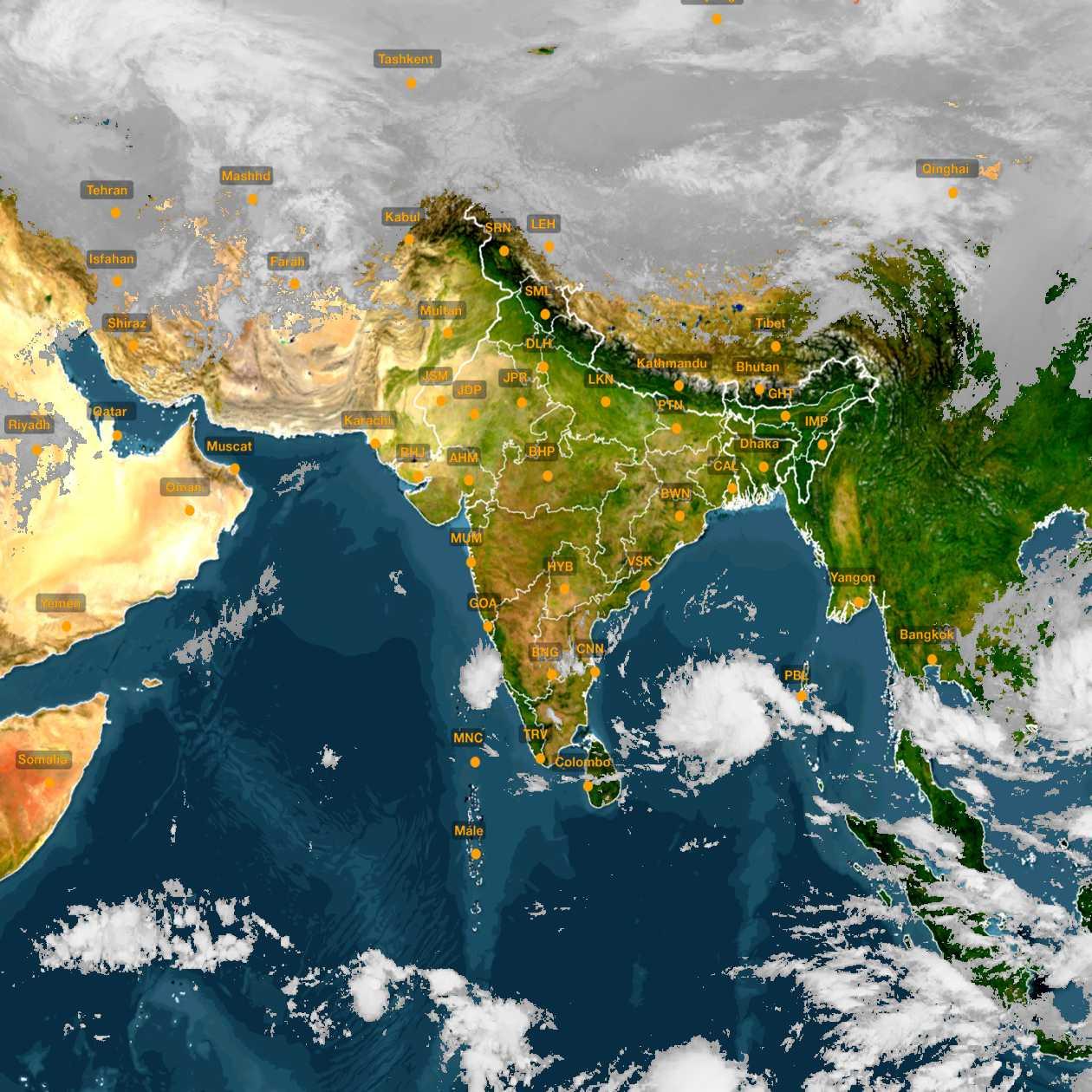 <b style='padding-left:57px;'>09:00</b><br>Satellite Images of India <br>for 30 November 2020