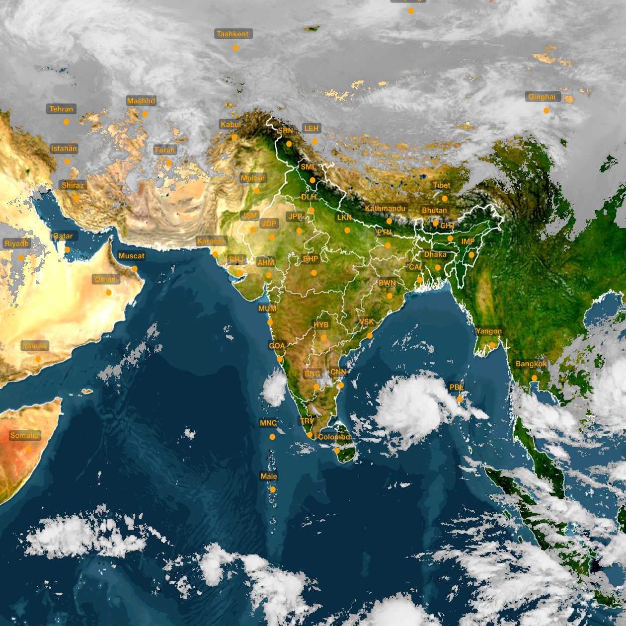 <b style='padding-left:57px;'>09:30</b><br>Satellite Images of India <br>for 30 November 2020