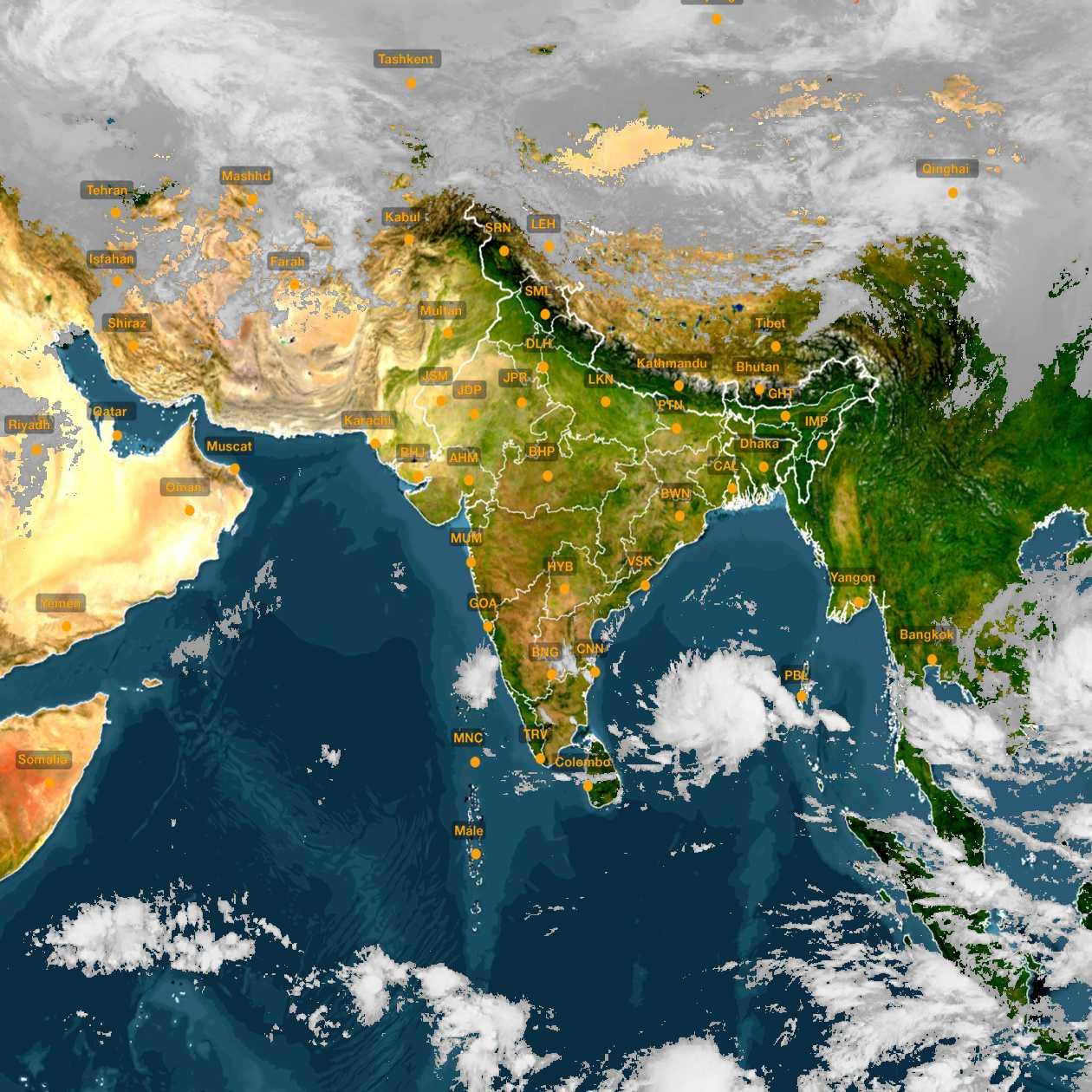 <b style='padding-left:57px;'>10:00</b><br>Satellite Images of India <br>for 30 November 2020