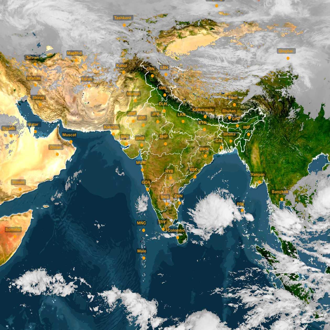 <b style='padding-left:57px;'>12:00</b><br>Satellite Images of India <br>for 30 November 2020