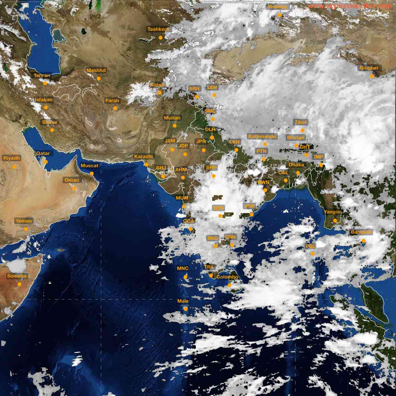 <b style='padding-left:57px;'>01:00</b><br>Satellite Images of India <br>for 25 June 2021