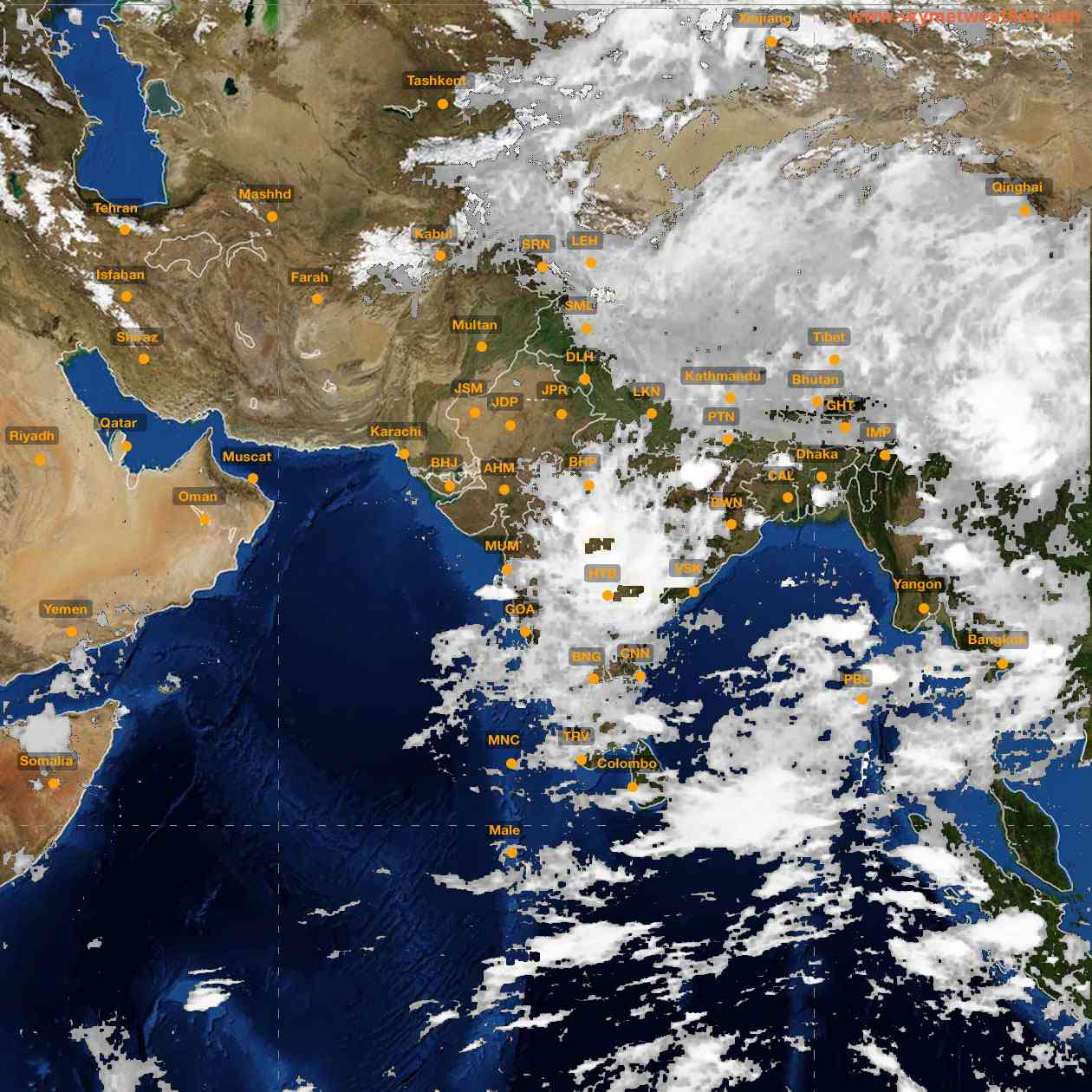<b style='padding-left:57px;'>02:00</b><br>Satellite Images of India <br>for 25 June 2021