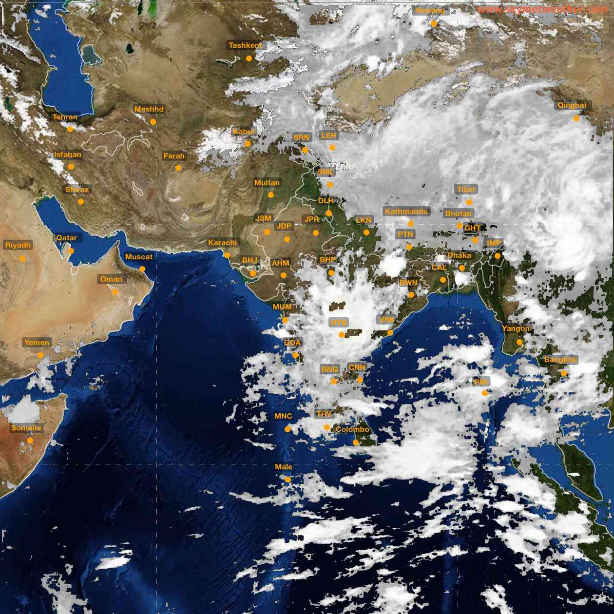 <b style='padding-left:57px;'>03:00</b><br>Satellite Images of India <br>for 25 June 2021