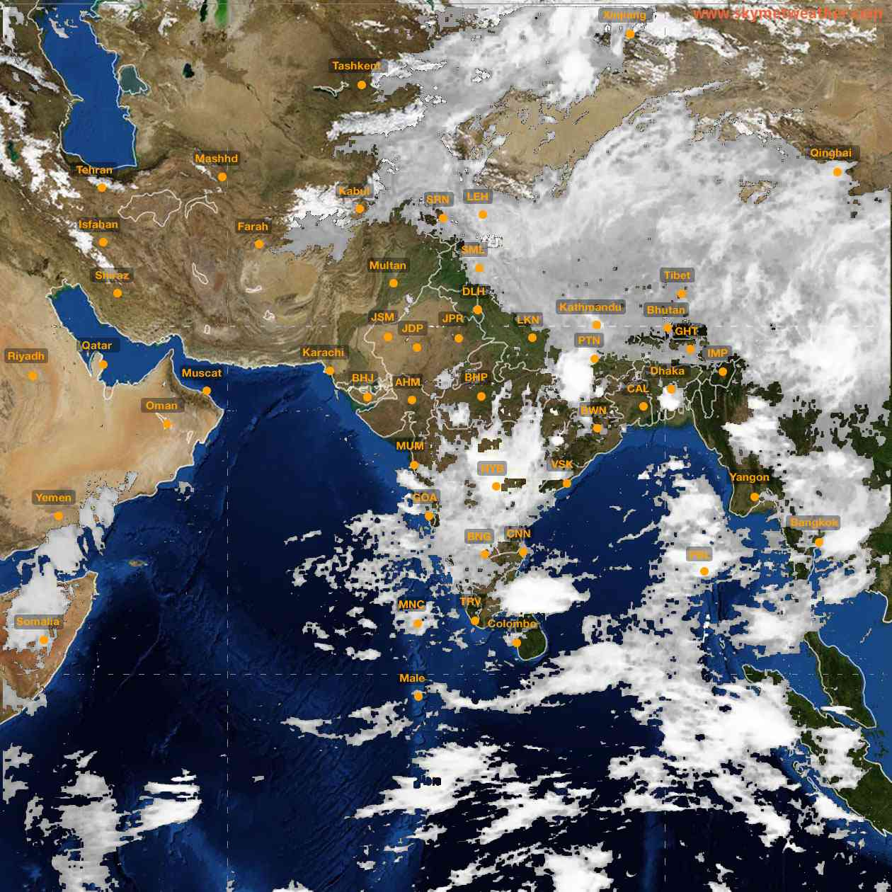<b style='padding-left:57px;'>06:00</b><br>Satellite Images of India <br>for 25 June 2021
