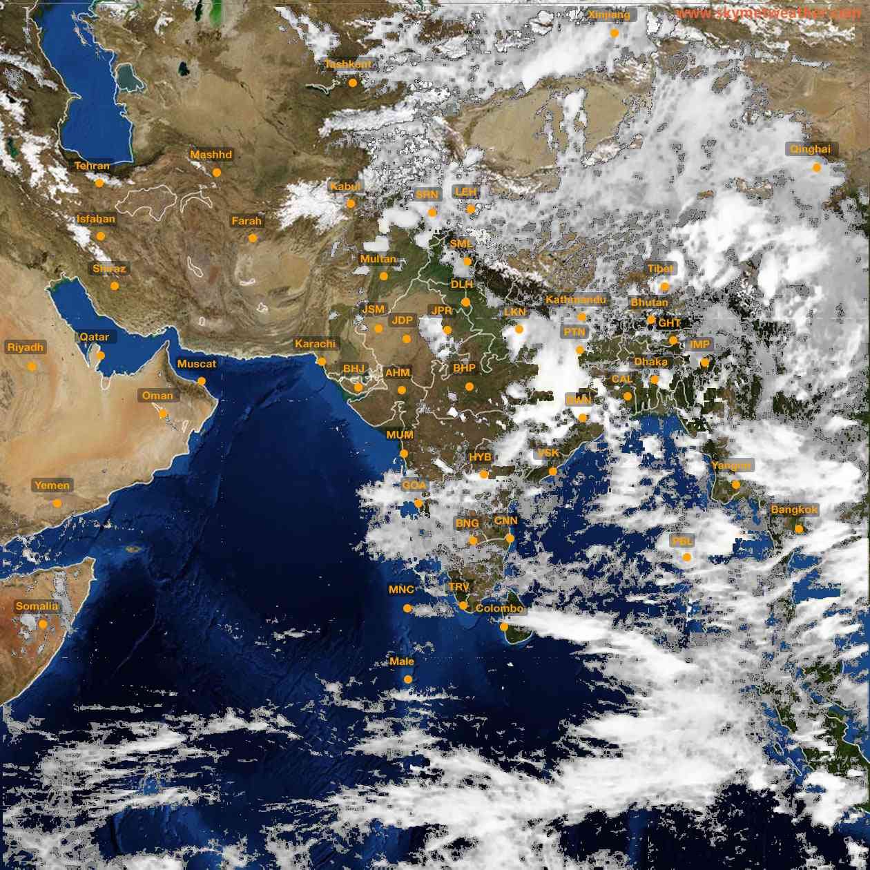 <b style='padding-left:57px;'>16:00</b><br>Satellite Images of India <br>for 25 June 2021