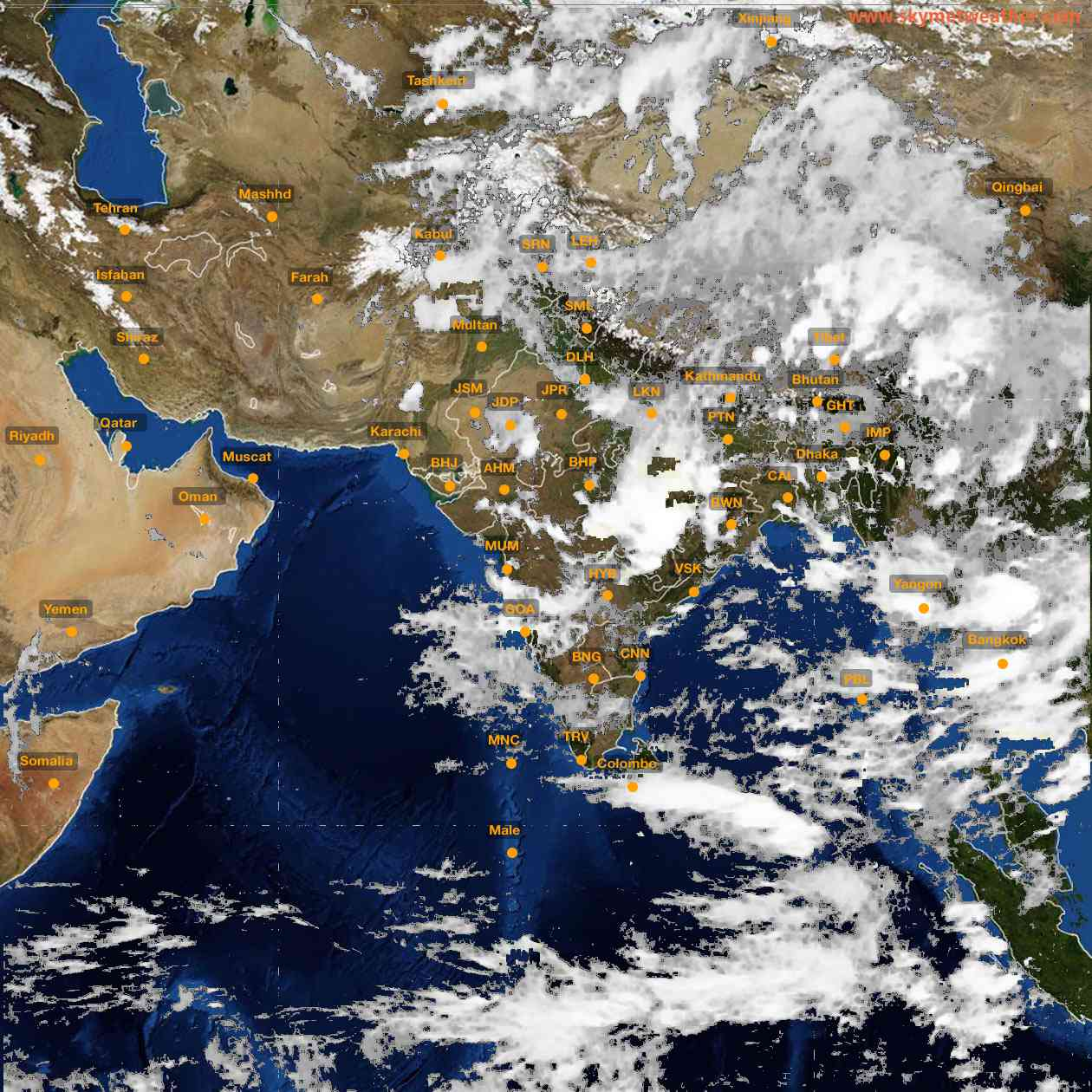 <b style='padding-left:57px;'>18:00</b><br>Satellite Images of India <br>for 25 June 2021