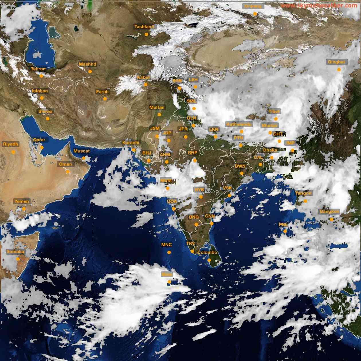 <b style='padding-left:57px;'>04:00</b><br>Satellite Images of India <br>for 25 July 2021