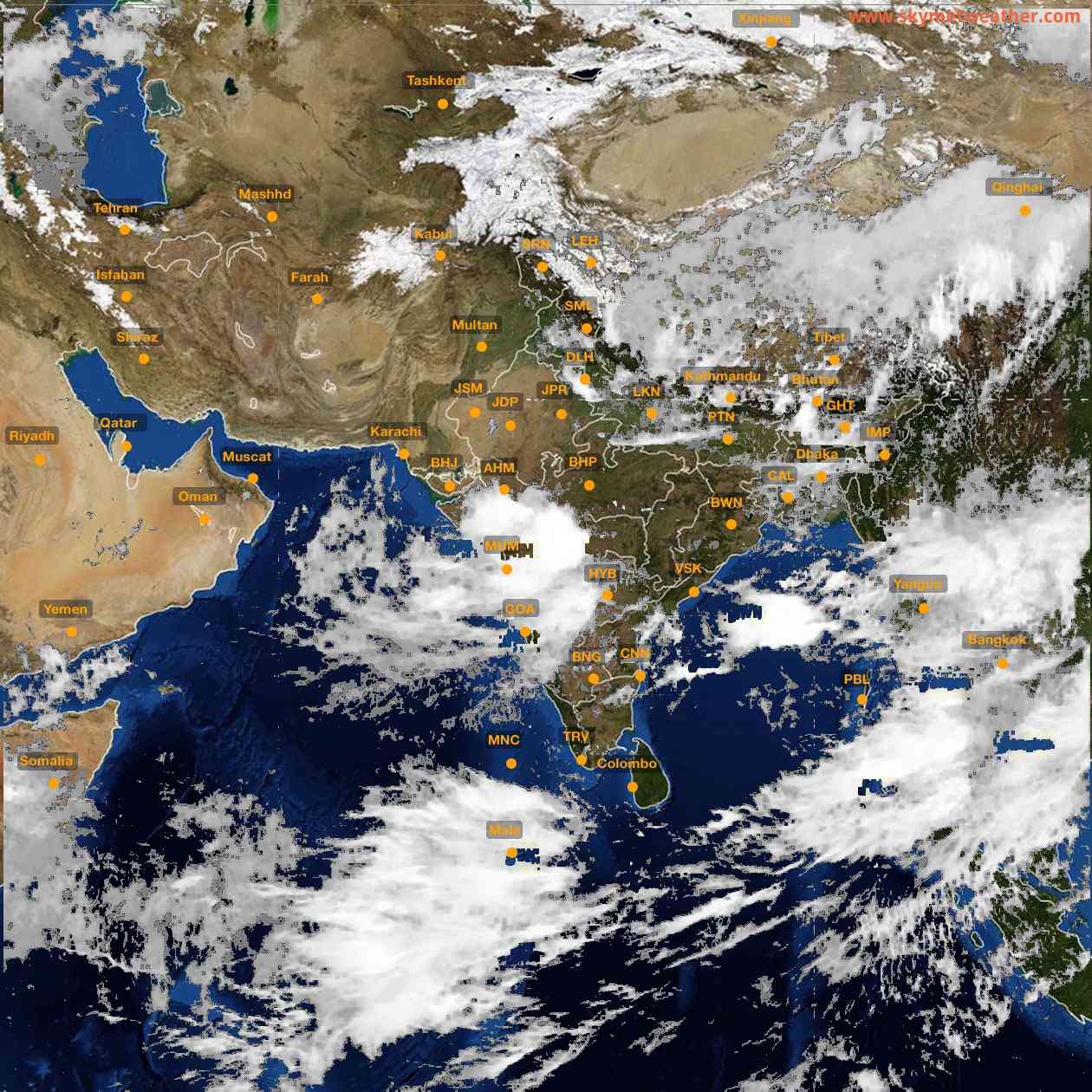 <b style='padding-left:57px;'>11:00</b><br>Satellite Images of India <br>for 25 July 2021