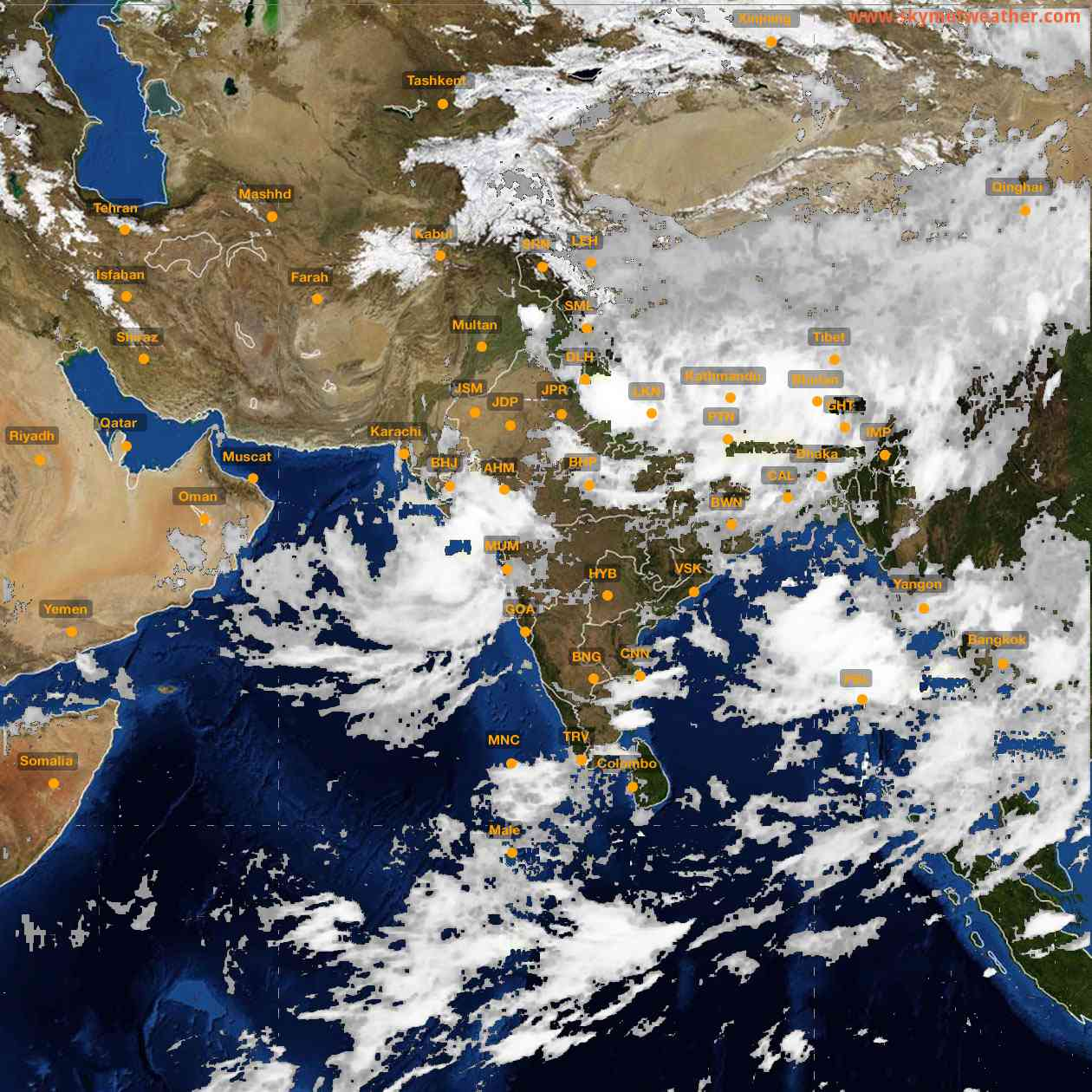 <b style='padding-left:57px;'>02:00</b><br>Satellite Images of India <br>for 26 July 2021