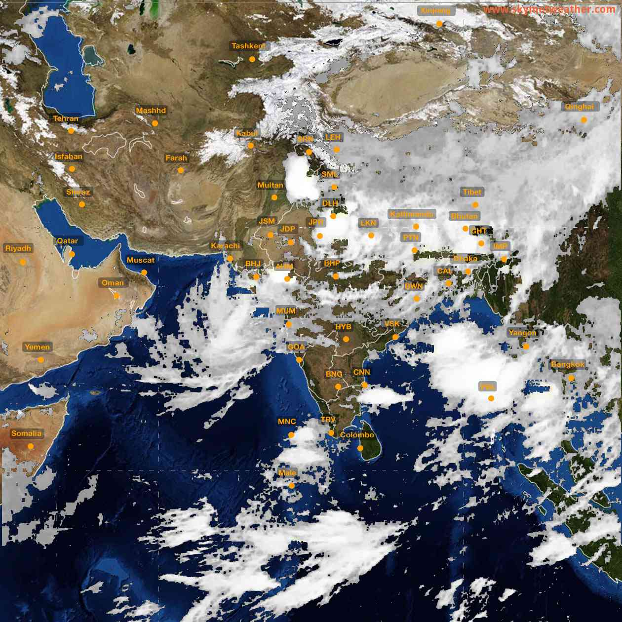 <b style='padding-left:57px;'>06:00</b><br>Satellite Images of India <br>for 26 July 2021