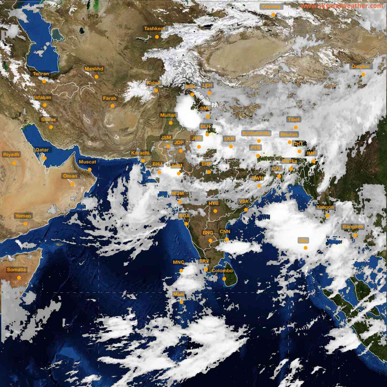<b style='padding-left:57px;'>07:00</b><br>Satellite Images of India <br>for 26 July 2021