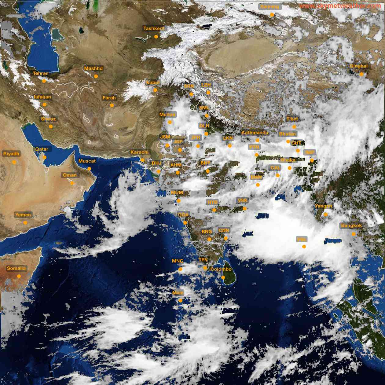 <b style='padding-left:57px;'>15:00</b><br>Satellite Images of India <br>for 26 July 2021